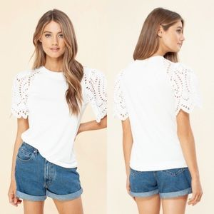 Hale Bob Laura Top in Ivory